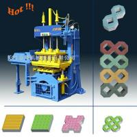 Quality QTY2-20 Manual Operated Fly ash Paving Brick Block Making Machine For Small Business for sale