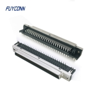Quality Right Angle PCB 20pin 36pin 68pin 100pin Female SCSI Connector for sale