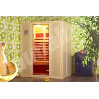 Quality 3 Person German Saunas, Far Infrared Sauna Cabin For Family for sale