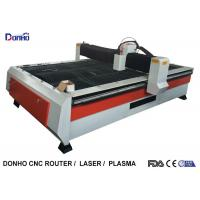 Buy cheap Heavy Duty Structure CNC Plasma Cutting Machine With Chuangwei Stepper Motor from wholesalers