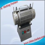 JC 220V 2KW Horizontal Type Aluminum Induction Melting Furnace
