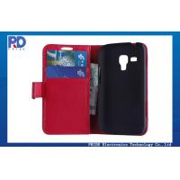 China Sony PU Smart Phone Card Holder PU Leather Cases with dustproof on sale