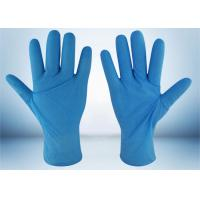 Quality Powder Free Nitrile Examination Gloves 5 MIL Thickness Good Puncture Resistance for sale