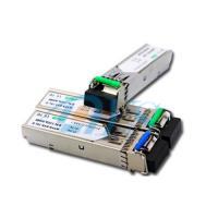 Quality BiDi SFP Fiber Optic Transceiver Package With LC / SC Connector for sale