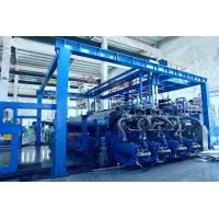 China 8000mm Waterproof Geomembrane Sheet Extrusion Machine Sheet Extruder Machine 1000kg/Hr Capacity on sale