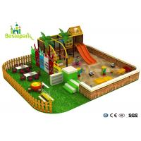 Quality Sand Land Indoor Soft Playground Equipment For Children 3 - 14 Years Old for sale