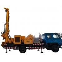 China Multifunctional Medium Waterwell Drilling Rig Machine For Foundation Construction on sale