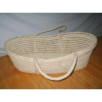 Quality Maize Corn Husk Moses Baby Basket for sale