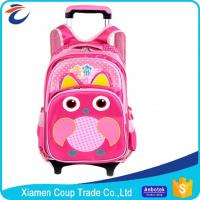 Quality 600D Polyester Promotional Products Backpacks Kids Trolley Bag For School Students for sale