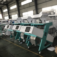 Quality 5T/H Mini Brown Rice Sorting Machine With CCD Cameras for sale