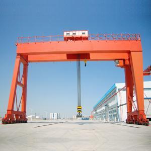 Quality Port Motorized Gantry Crane Double Girder 50 Ton Hoist Industrial Lifting for sale