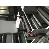 China Allfine 7color 320 two units(4+3) Label plastic flexo printing machine self-adhesive sticker/label to mould die cutter on sale