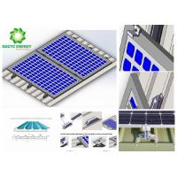Quality 2020 Free Sample and No MOQ only Supply Structure   solar roof  solar panel installation    solar mount for sale
