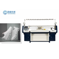 Quality Slipper Computer 3D Textile Shoe Upper Knitting Machine Flyknit Machine for sale