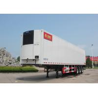 China SINOTRUK Refrigerated Semi Trailer Truck 20 / 40 Feet Container 30 - 60 Tons on sale