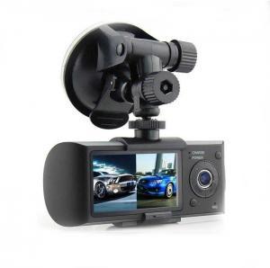 China H.264 Full HD 1080P Dual Camera Car DVR OEM ODM , VGA 640 × 480 30Fps on sale