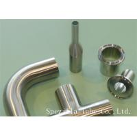 """Quality 3/4"""" Clamp Sanitary Valves And Fittings Welded 45 Stainless Steel Elbow for sale"""