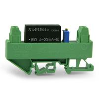 Quality DIN3 Small Size DIN Rail Mounted Analog Signal Conditioner 4-20mA Output DIN3 ISO 4-20mA-E for sale