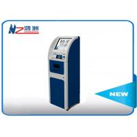 Quality LCD AD Display Ticket Vending Kiosk With Operated Management Internet for sale