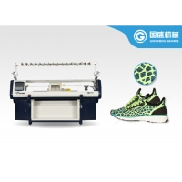 Quality Three System Flying Vamp Shoe Knitting Machine for sale