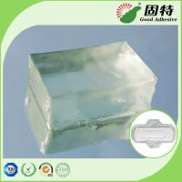 Quality Light Transparent PSA Hot Melt Adhesive Block For Sanitary Napkin Adult Diaper for sale