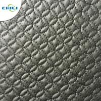 China Waterproof Faux Leather Upholstery Fabric Easy Cleaning Quick Drying on sale