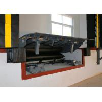 Quality High Capacity Airbag Dock Leveler Safety Structural With Push Button for sale
