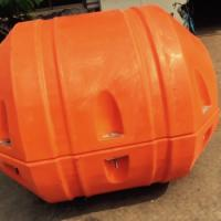 Quality High Buoyancy MDPE Plastic 14 inch PU Buoy Float for Dredging pipeline for sale
