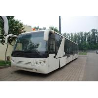 Quality Large Capacity Low Carbon Alloy Body Airport Passenger Bus Ramp Bus DC24V 240W for sale