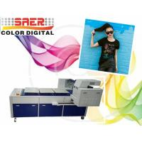 Quality Pigment Ink T Shirt Digital Garment Printer With Three Working Tables for sale
