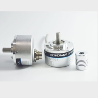 Quality 190 Grams 8mm Solid Shaft Encoder 1440ppr D Type Incremental Encoder CE Certified for sale