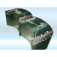 Quality curved glass for stove for sale