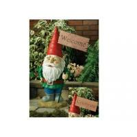 Quality Polyresin Gnomes Figurines Polyresin Welcome Garden Gnome for sale