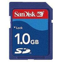 Quality Sandisk SD card 1G for sale