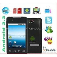 "Copy HTC 3.5"" Screen A9000 Android 2.2 OS GPS WiFi TV Smart cell phone Dual SIMs"