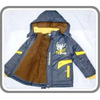 Quality New Arrival Fancy Boy's Thick Wram Padded Hoodies Jackets with Shihai EXPO Logo Kid's Wear BC0031 for sale