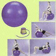 Quality PVC Gymnastic Balls Available in 45, 55, 65, 75 and 85cm for sale