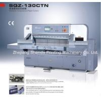 Quality Paper Cutter (SQZ-130CTN) for sale