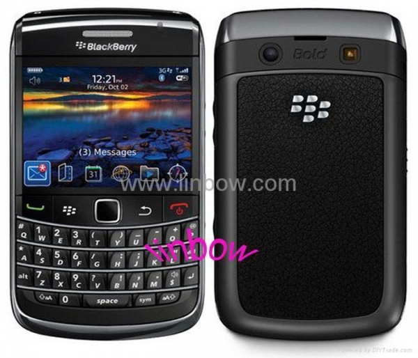 China Refurbished unlocked Blackberry Bold 9700 mobile phone have WiFi and 3G