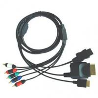 Quality POWER INVERTERProducts >> GA-S113-PS2/PS3/Wii/XBOX360 4 in 1 Component Cable for sale