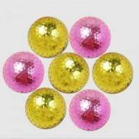 China High Quality Pink or Orange Plated Golf Gift Balls on sale