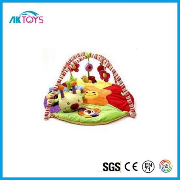 China Comfortable And Educational Baby Plush Bed Mat, Safety Bed Plush Mattress For Kids