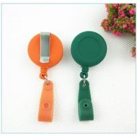China Bottle opener Rubber process oil treated retractable badge reel 005 on sale