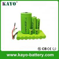 Quality 1.2 7.2v, 9.6v 3000mah Ni-MH Battery,rechargeable Battery,C Size Battery for sale