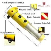 Quality Car Emergency Tool Kit with Torch for sale