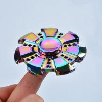 Buy cheap Cheap Colorful Stress Relief Toy Wheel Finger Fidget Spinner from wholesalers