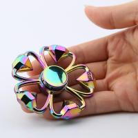 Buy cheap Cheap Diamond Shape Flower Colorful Fidget Metal Spinner from wholesalers
