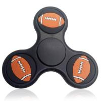 Buy cheap Cheap Stress Relief Toy Rugby Pattern Triangle Fidget Finger Spinner from wholesalers