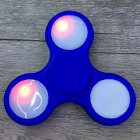 Buy cheap Cheap Anti-Stress Toy Color Changing LED Fidget Finger Spinner from wholesalers