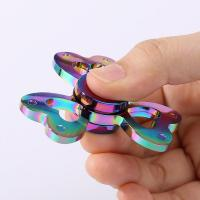 Buy cheap Cheap Colorful Clover Shaped Spinning Finger Gyro from wholesalers